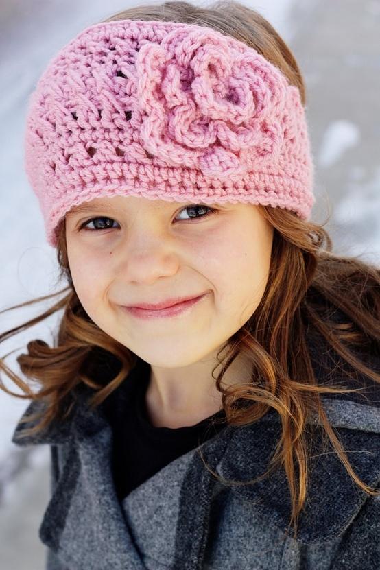 love the crochet headband!.