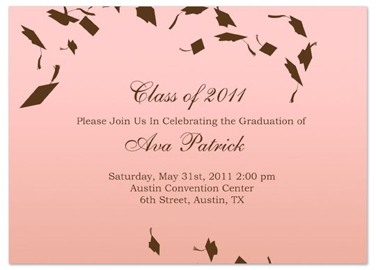 Graduation Invitation Templates Microsoft Word As An Extra Ideas About How To Make Charming Graduation Invitation 22920161 - 36068