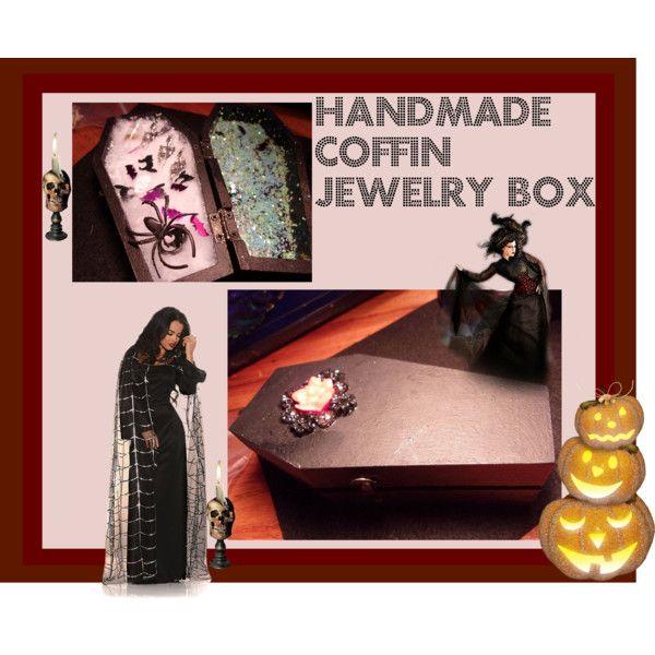 Coffin Jewelry Box-Glows in the Dark