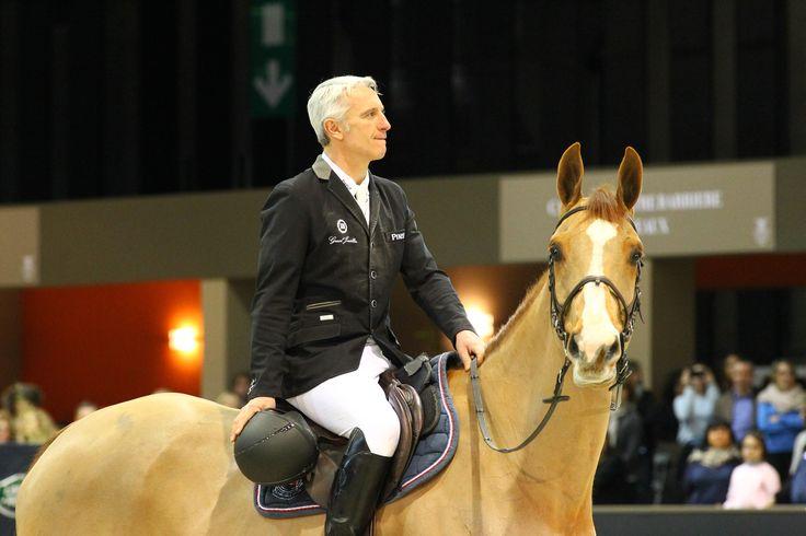 Roger-Yves Bost, ambassadeur international de la Maison de haute Joaillerie Graal Joaillier, un des meilleurs cavaliers mondiaux (27ème mondial et  Champion d'Europe en titre).