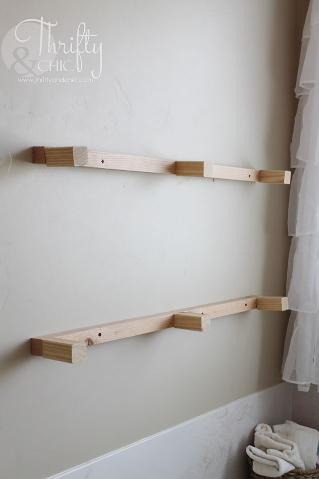 Diy Floating Shelves Just Like The Ones From Fixer Upper