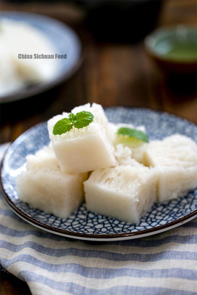 Chinese rice cake (Bai Tang Gao)