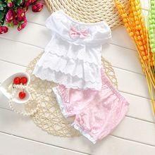 Yaz tarzı arabacılarla orijinal prenses yay 100% pamuk kız bebek giysileri bebe yenidoğan roupa infantil çocuk eşyaları bebek giyim(China (Mainland))
