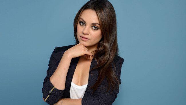 Mila Kunis can speak Russian...