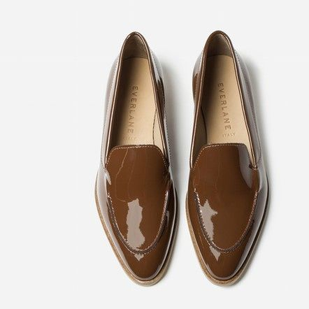 The Patent Loafer - Maple - Everlane $175 size 8