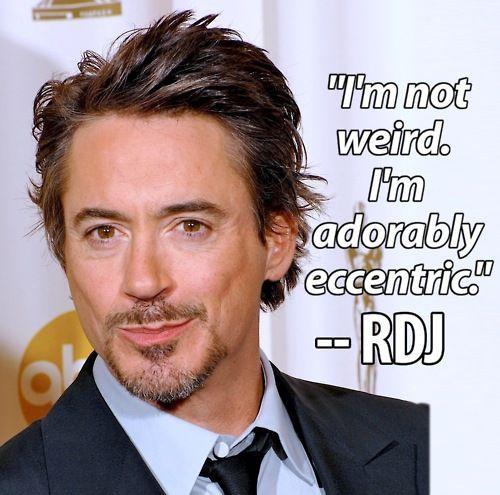 Robert Downey Jr quote