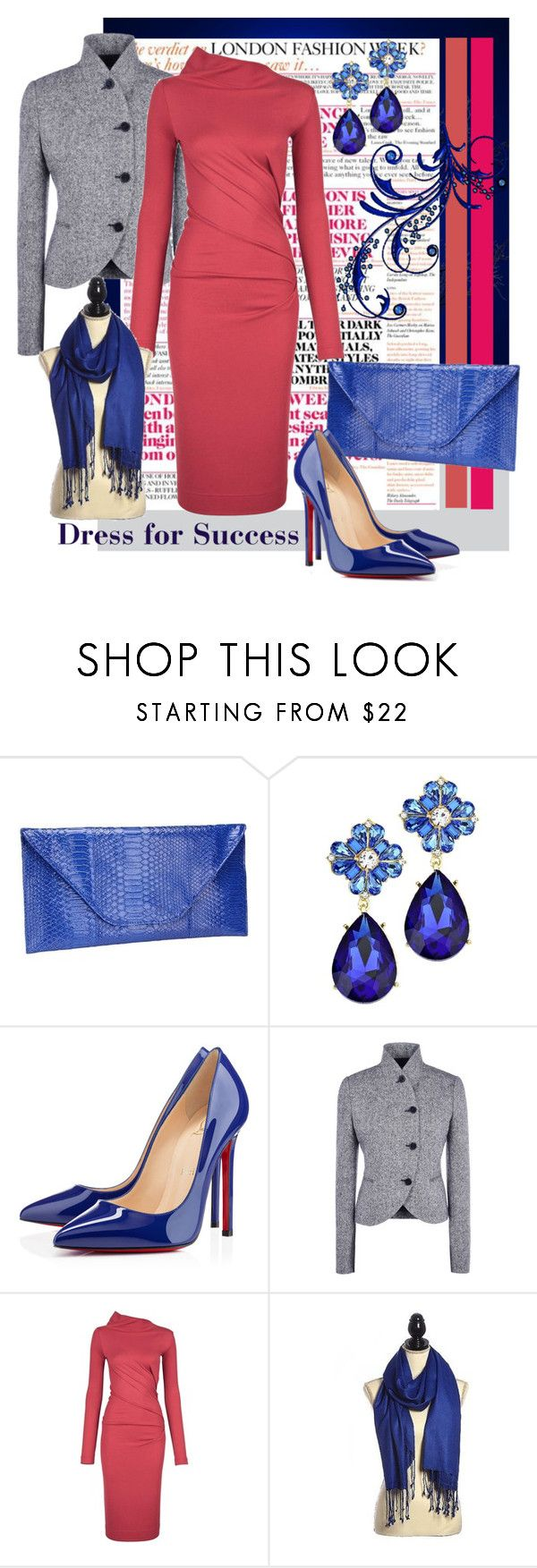 """""""Dress for Success"""" by shoppe23online ❤ liked on Polyvore featuring Christian Louboutin, STELLA McCARTNEY, Vivienne Westwood Anglomania, women's clothing, women's fashion, women, female, woman, misses and juniors"""