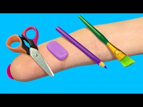 14 DIY Barbie College Provides And Crafts    YouTub #BARBIE #Crafts #DIY #College #Provides
