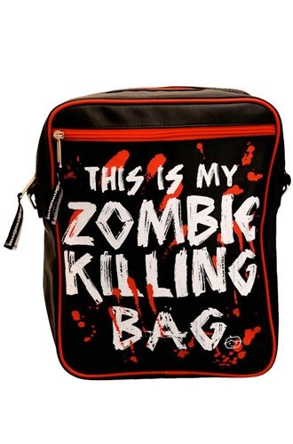 attitude Clothing Co. - Goodie Two Sleeves Zombie Killing Flight Bag