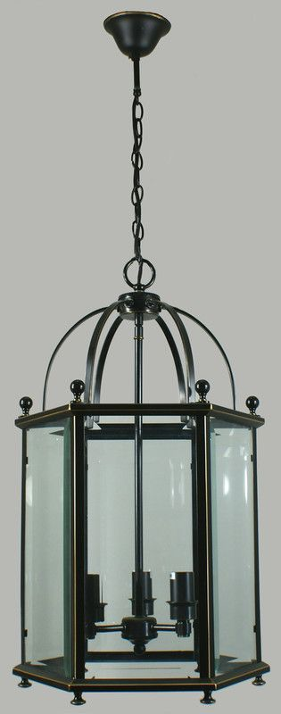 Australian made and designed, the Country Lantern would look just the part in a country style kitchen with its quirky bird cage design.    Dimensions Dimensions H:62cm Height including rod: 162cm W:37cm.  Globe 240V   E27 53W (not included)