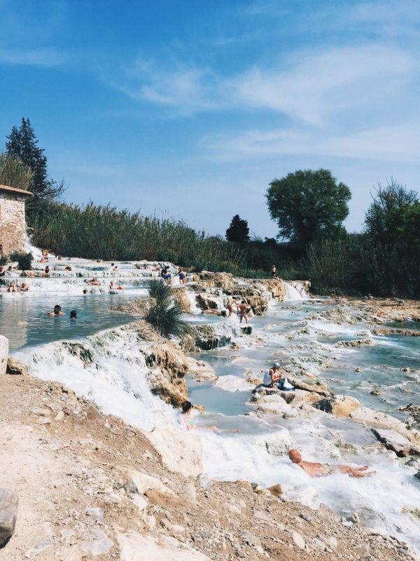Saturnia Hot Springs, Tuscany, Italy