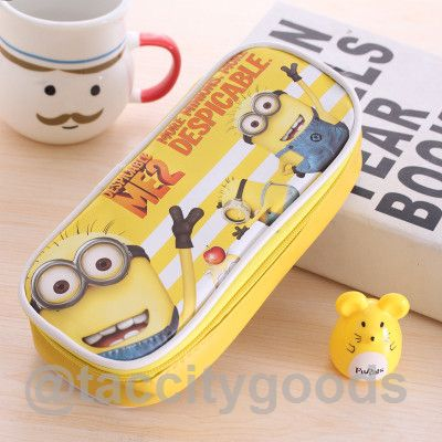 Minions school pencil case-pencil case-Tac City Goods Co. https://www.taccitygoods.com/products/minions-school-pencil-case