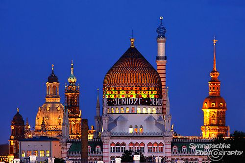 The beautiful towers of Dresden, Germany blog.synnatschke.de