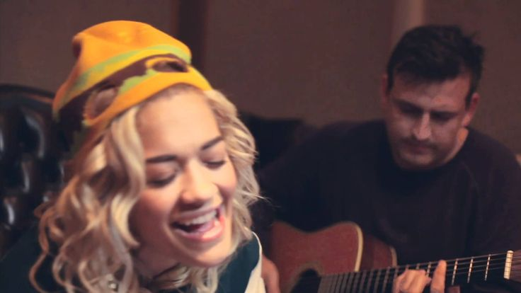 """new music discovery of the day:  Rita Ora.  """"Hey Ya!"""" Acoustic Performance"""