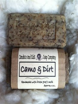 A soap for hunters that contains anise essential oil and coffee grinds to help eliminate human scent and blended with a scent of fresh turned earth. Use as a bath and shampoo bar. Slice off a small piece and place with hunting clothes in an air tight container to help remove human scent from clothing.