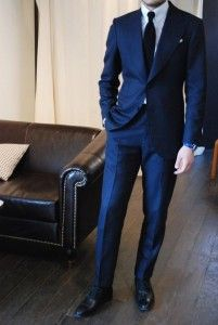 Navy Blue Tuxedo...I'm not sure why I like this so much! Maybe Jason can just be my something blue? :D