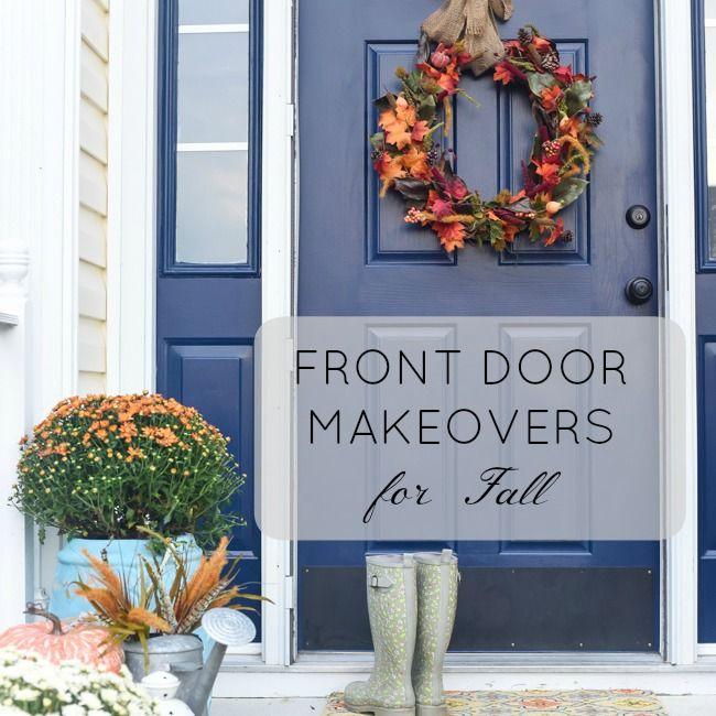 Fall Front Door Makeover Ideas | Modern Masters Cafe Blog & 101 best Doors | Modern Masters images on Pinterest | Modern ... pezcame.com