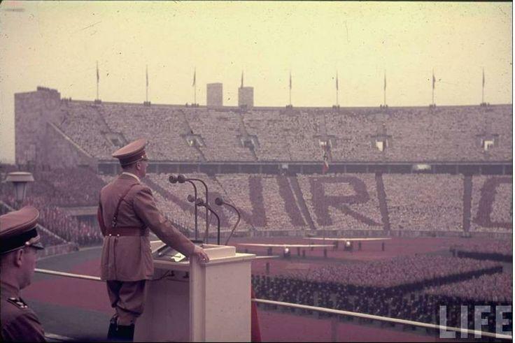 Adolf Hitler speaking LIFE Image