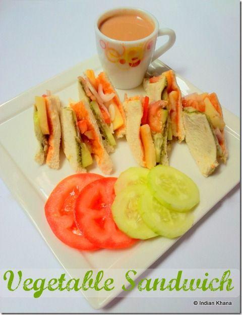 Vegetable Sandwich | Street Style