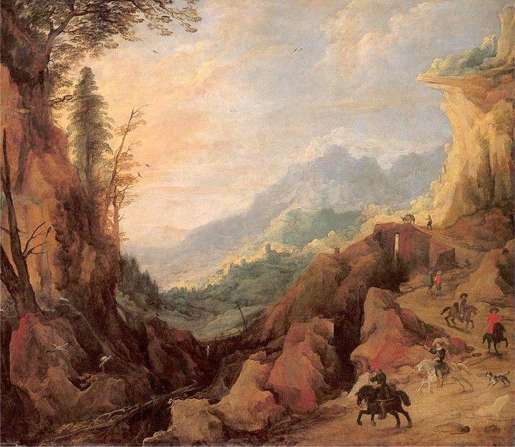 Belgian Art - Momper II, Joos de
