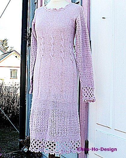 Sart rosa kjole str. 38 - 42. - Chris-Ho.com