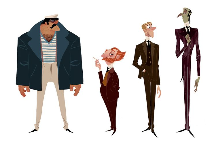 """Characters from """"Baltimore, or The Steadfast Tin Soldier and the Vampire""""    Illustrator: Ryan Lang - http://ryanlangdraws.blogspot.com/"""