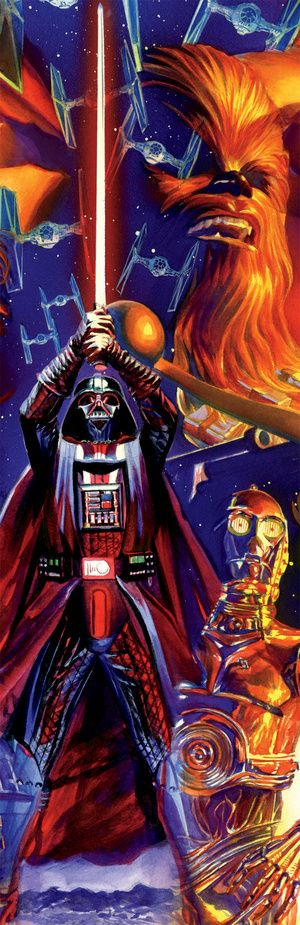 A First Look At The Brand New Comic Star Wars (With Darth Vader Illustrated By Alex Ross!)