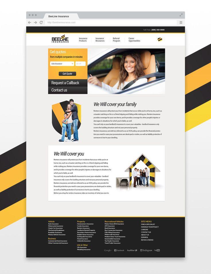 Beeline Website Design by Gavalian Studio