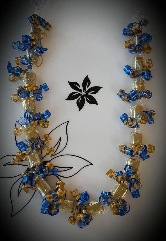 Custom Made Candy Lei (Graduation, Wedding, Retirement, Special Occasion, Birthday, Mother's Day, Fa