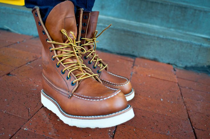 Red Wing Boots | Red Wings/ Leather Boots | Pinterest | Medium ...