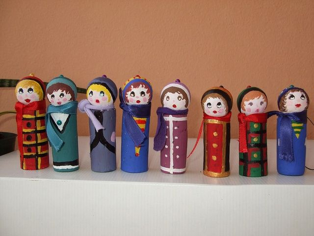 upcycled christmas crafts | Recycle, upcycled, green craft, wine corks, paper mache ... | Christm ...