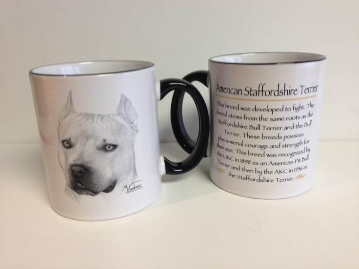 Pitbull / American Staffordshire Terrier Merchandise available HERE.