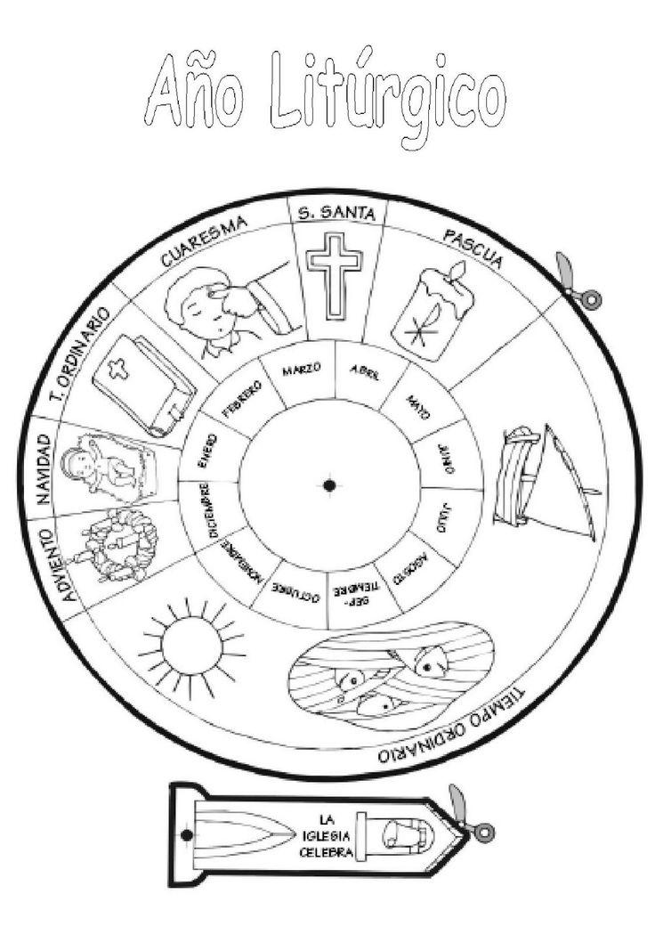 ¿Quieres saber más cosas sobre el calendario litúrgico y hacer el tuyo propio? Te propongo ver el siguiente vídeo: Para saber más y ver las fotos de este calendario, visita: Fuente: Familia Católic...