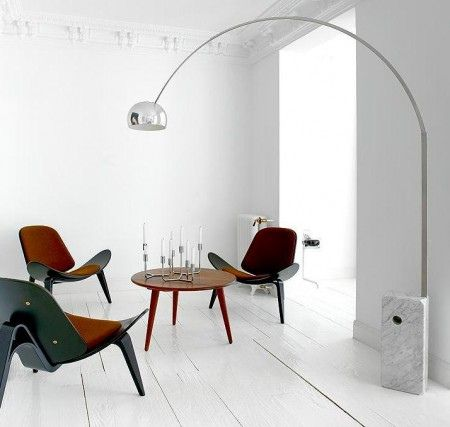 Arco lamp by Flos