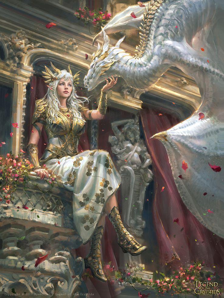 Dragon Princess, Livia Prima auf ArtStation bei www …. – #amazon #ArtStation #Dra …   – ikea
