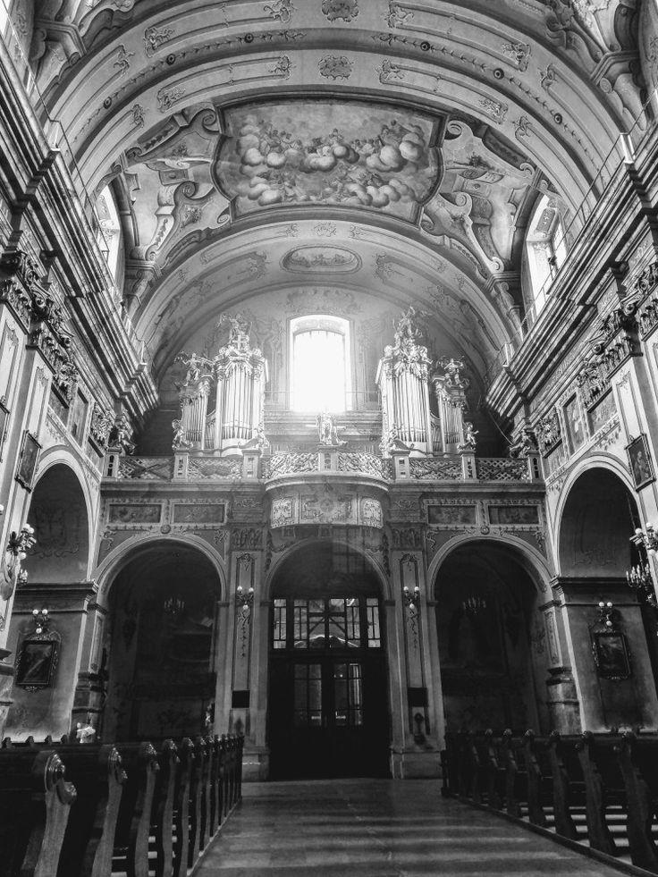 Kościół o. Franciszkanów w Przemyślu. Franciscan fathers church in Przemyśl, Poland.