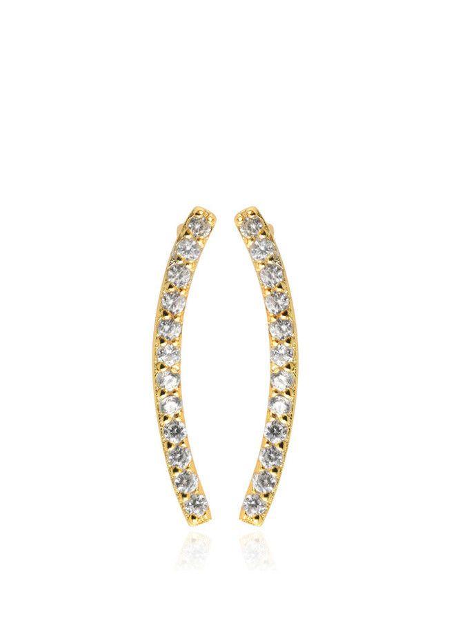 Samantha Wills - Azure Cuff Earrings - Gold - $89.90