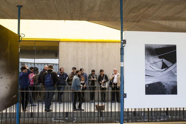 Visita guiada por Exposiciones FIFV en PCdV. Fotos de Patricio Miranda.