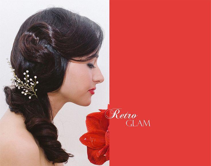 Coafura Retro Glam ❤️ Retro Glam Hairstyle