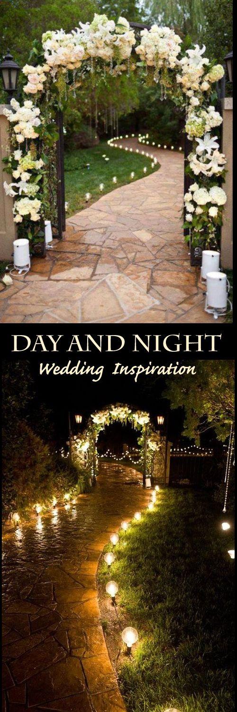Day and Night View Of this Beautiful Wedding Inspiration Photo.  #Wedding #WeddingDecor #WeddingIdea #Wedding #Inspiration #Bella #Taye Wedding Wedding Wedding!