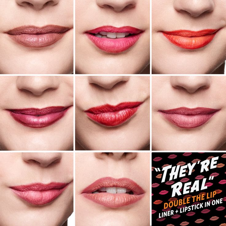 Find your perfect shade! They're Real! Double the Lip are so easy to use and so gorgeous on <3 xx
