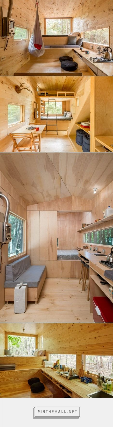 Harvard students create holiday micro cabins for city dwellers - created via…