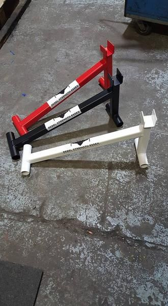 Rebel Strength Mini Deadlift Jack. Save the hard work of trying to lift a weighted bar to load extra plates with our mini deadlift bar. As used by Terry Holland