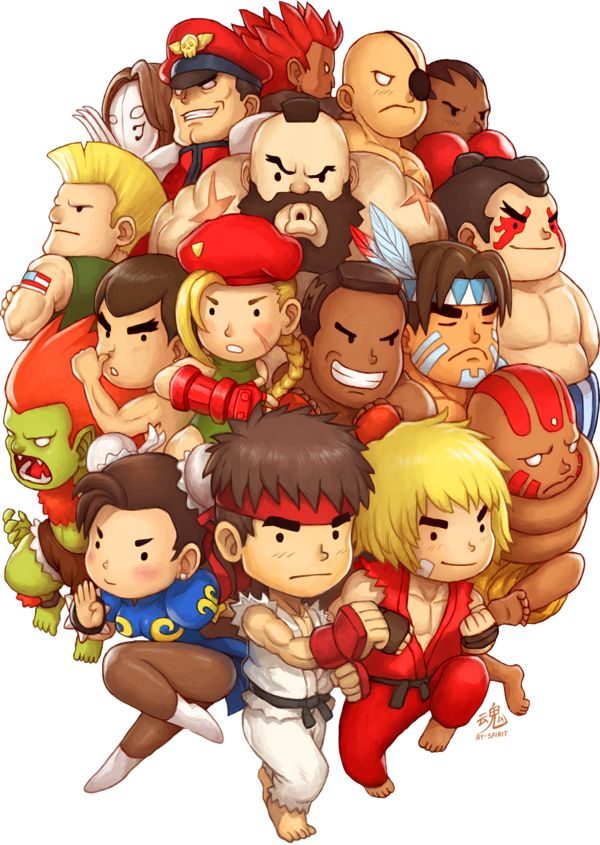 Well Im back from my Japan trip, sorry I've been away for so long! Anyway here's a fan art of one of my favourite fighting game, Super Street Fighter II Turbo. Enjoy! This artwork took me sooo long...
