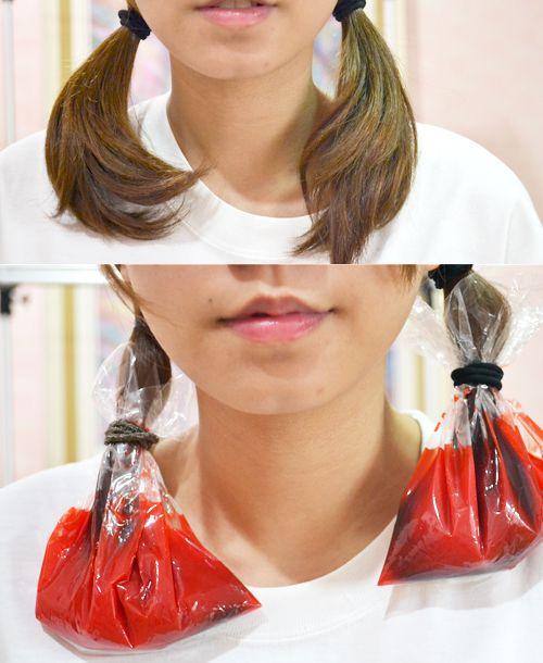 Dip-Dye hair with Kool Aid! | Hello Crissey