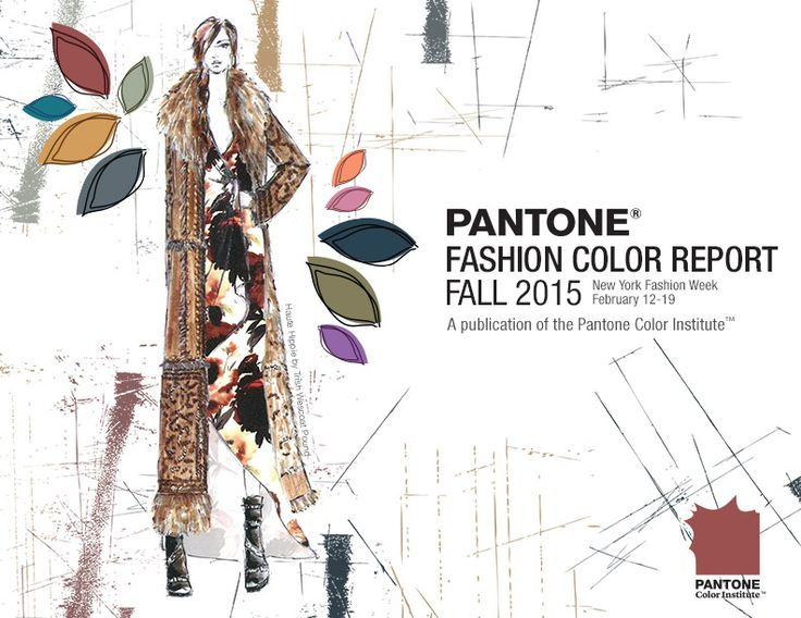 PANTONE's Fashion Color Report! Top 10 Colors for Fall 2015 http://www.pantone.com/fall2015