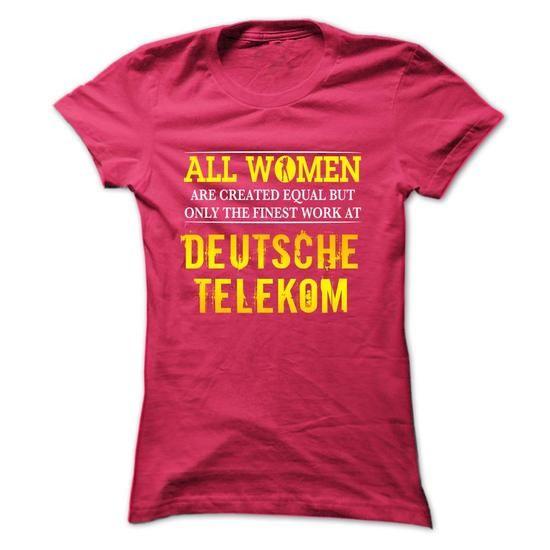 Women work at Deutsche Telekom - #hoodies for men #wholesale sweatshirts. ORDER HERE => https://www.sunfrog.com/Funny/-Women-work-at-Deutsche-Telekom-HotPink-4691540-Ladies.html?60505