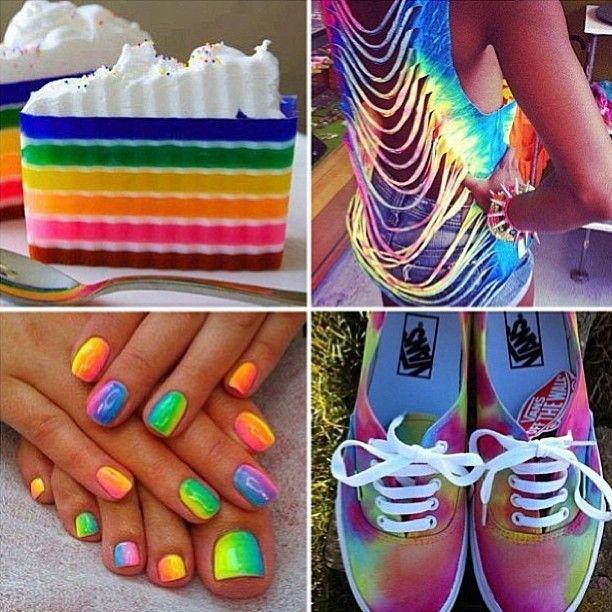 Tie Dye Custom Vans Shoes on Chiq http://www.chiq.com/tie-dye-custom-vans-shoes