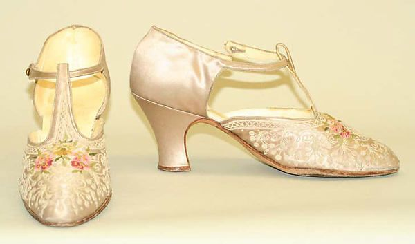 Shoes  Designer:     F. Pinet, Paris (French, founded 1855)  Date:     1920  Culture:     French