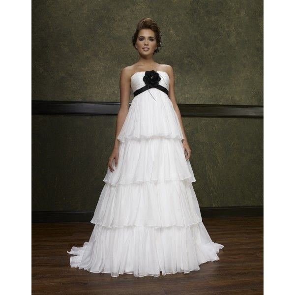 Cheap Wedding Dress Pregnant Buy Quality Bridal Gown Directly From China Maternity Dresses Suppliers Black And Ivory